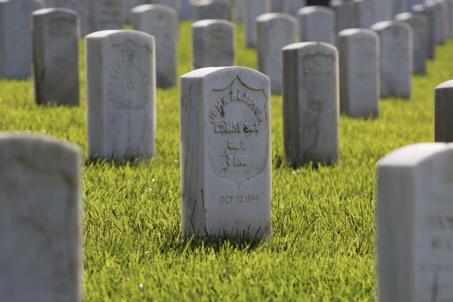 uitgelichte afbeelding: grafsteen